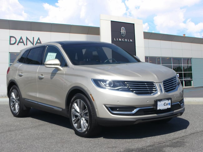 2017 Lincoln MKX CERTIFIED--EVERY OPTION--7,700 MILES Reserve AWD
