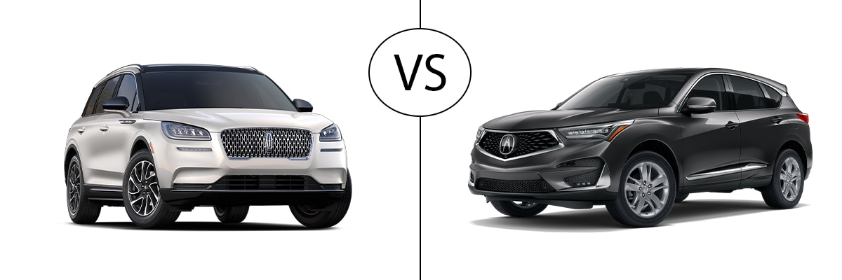 New Lincoln Corsair vs. Acura RDX