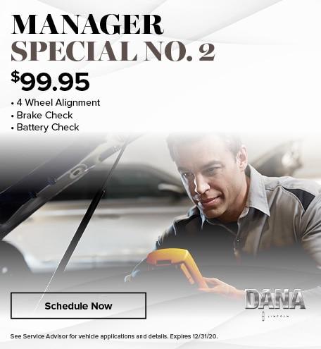 Manager Special No. 2