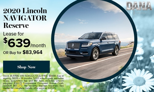 Dana Lincoln Staten Island S Luxury Dealership