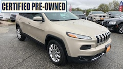 2014 Jeep Cherokee Limited 4x4 SUV Certified Pre-Owned For Sale in Danbury, CT