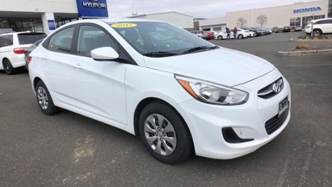 Certified 2017 Hyundai Accent Sedan Danbury, CT