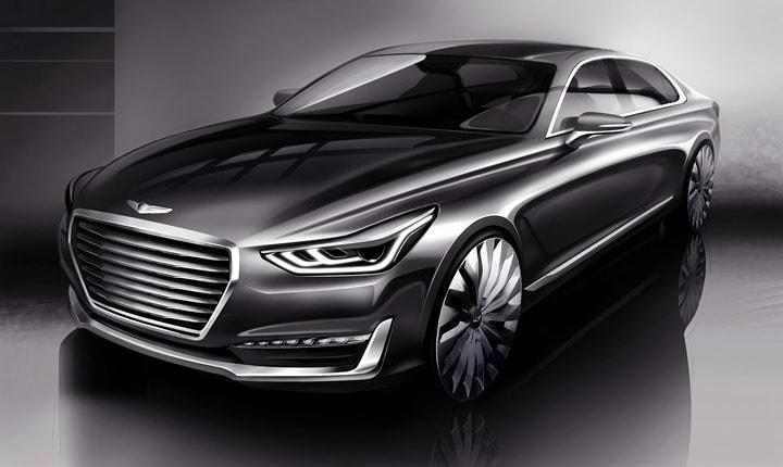 Genesis Car Logo >> Genesis Motors Usa G90 Danbury Hyundai