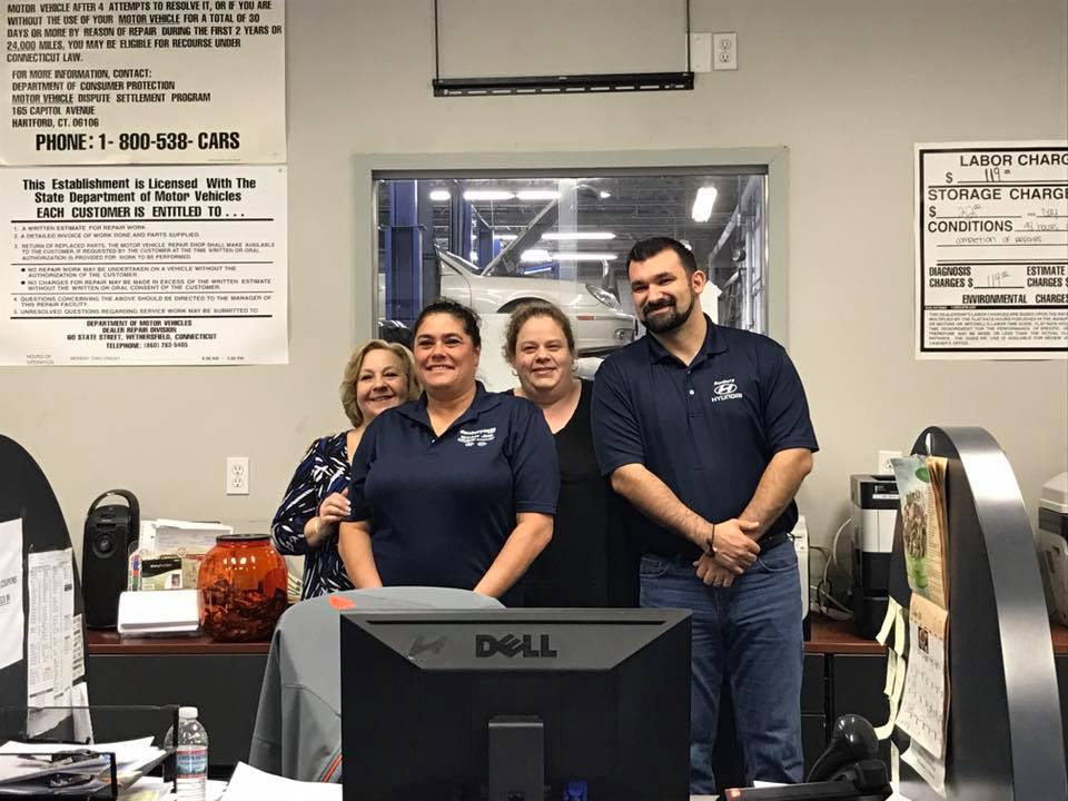Nice Our Service Advisors