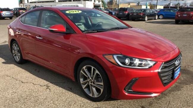 Certified 2017 Hyundai Elantra Limited Sedan Danbury, CT