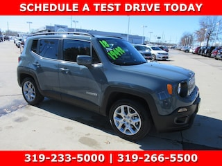 New 2018 Jeep Renegade LATITUDE 4X2 Sport Utility J13300 for sale in Waterloo, IA