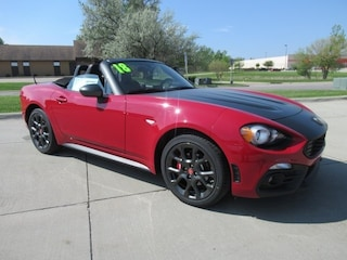 New 2018 FIAT 124 Spider ABARTH Convertible F10016 for sale in Waterloo, IA