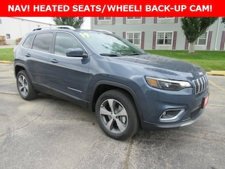 New 2019 Jeep Cherokee LIMITED 4X4 Sport Utility for sale in Waterloo, IA