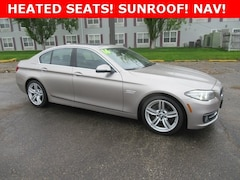 Used 2016 BMW 5 Series 528i xDrive Sedan U25431 for sale in Waterloo, IA