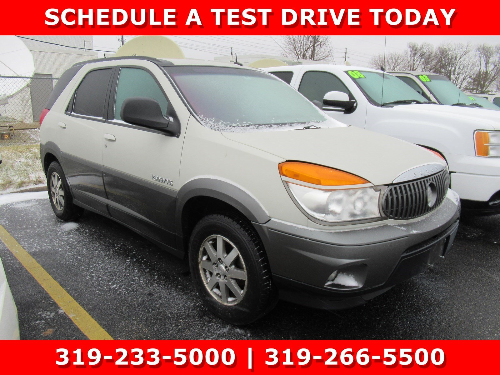 Used 2003 Buick Rendezvous CX For Sale in Waterloo, IA | VIN:  3G5DA03E93S532129