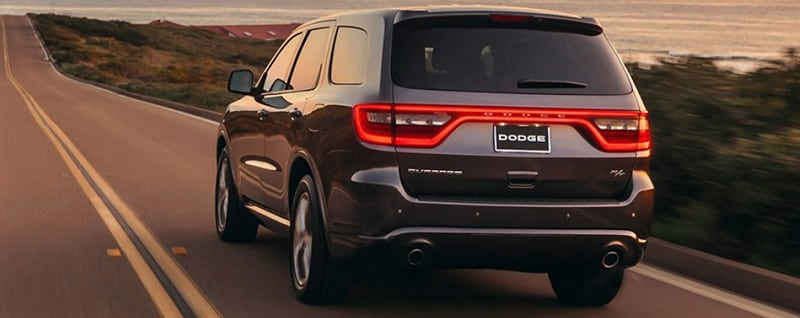 2017 Dodge Durango Rear