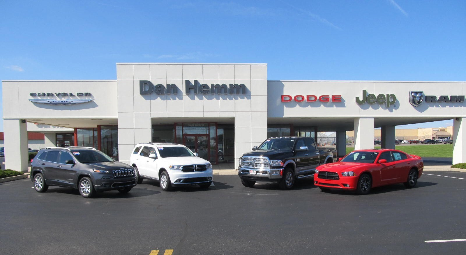 Jeep Dealers Dayton Ohio >> Sidney New Used Car Dealer About Dan Hemm Chrysler Jeep Dodge Ram