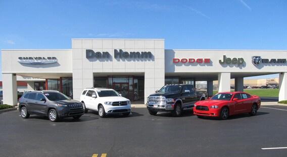 About Dan Hemm Chrysler Jeep Dodge Ram Chrysler Dealership Near Me