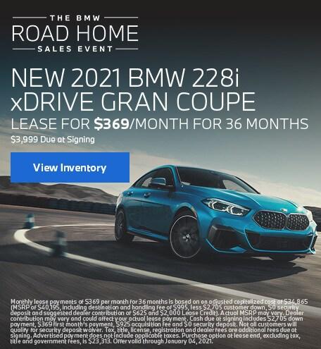 New 2021 BMW 228i
