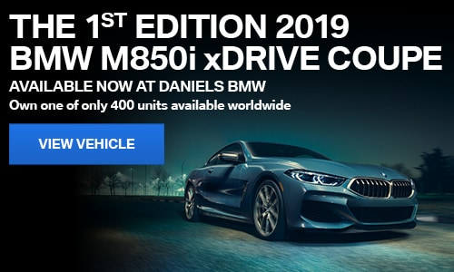 THE 1ST EDITION 2019 BMW M850i xDRIVE COUPE