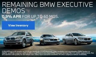 Remaining BMW Executive Demos
