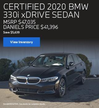 CPO 2020 BMW 330i xDrive