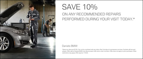 Save 10% On Any Recommended Repairs