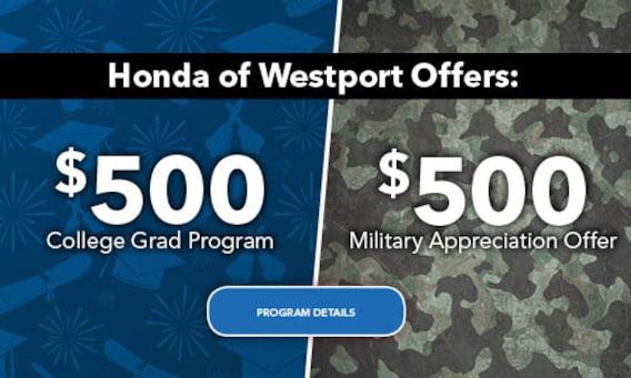 Honda of Westport | New & Used Cars | Auto Repair | Serving