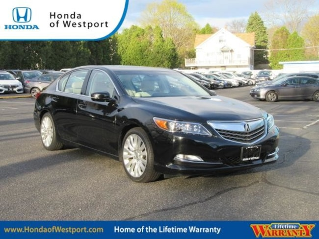 2015 Acura RLX 4dr Sdn Tech Pkg Sedan