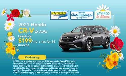 2021 Honda CR-V - April Offer