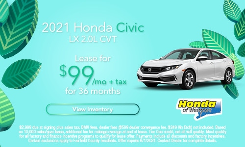 2021 Honda Civic | May Offer