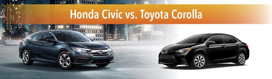 Compare Honda Civic Vs Toyota Corolla Subaru Impreza Hyundai
