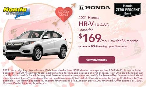 2021 Honda HR-V LX AWD- February Offer