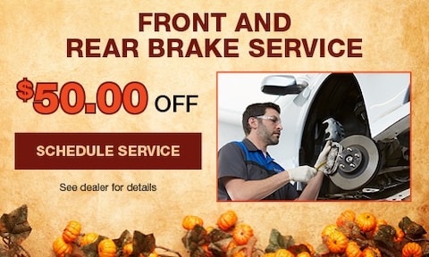 Front and Rear Brake Service