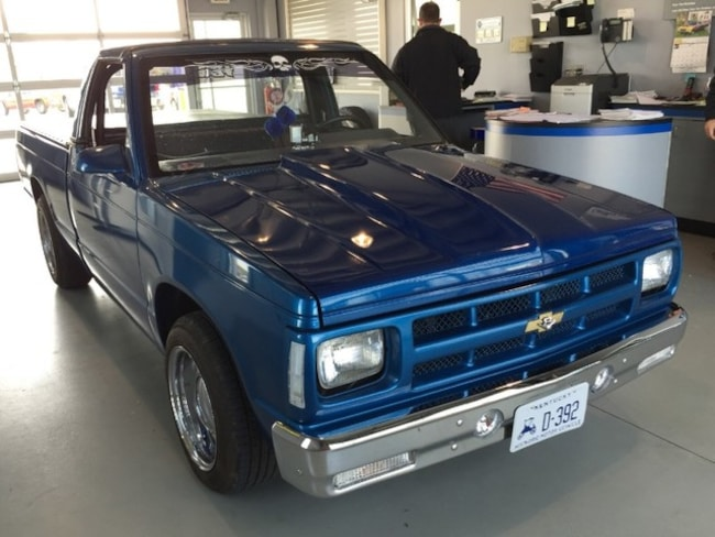 1986 Chevrolet S-10 Fleetside EL 108 WB