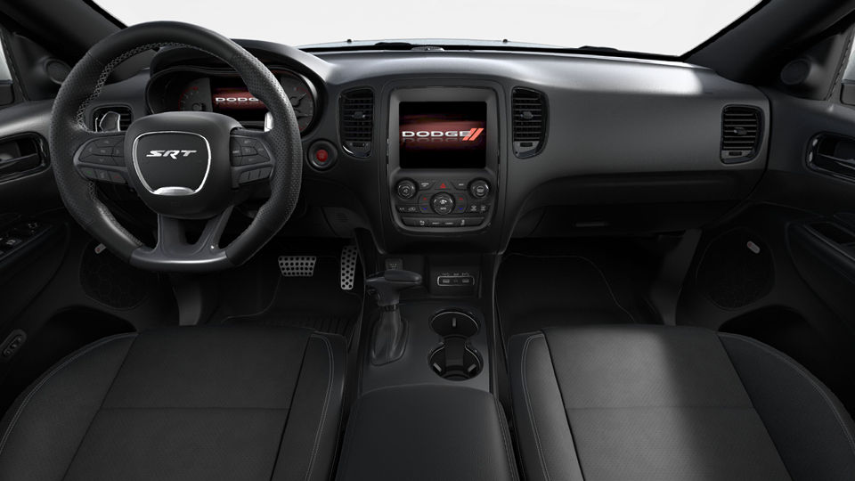 Interior of a 2018 Dodge Durango SRT