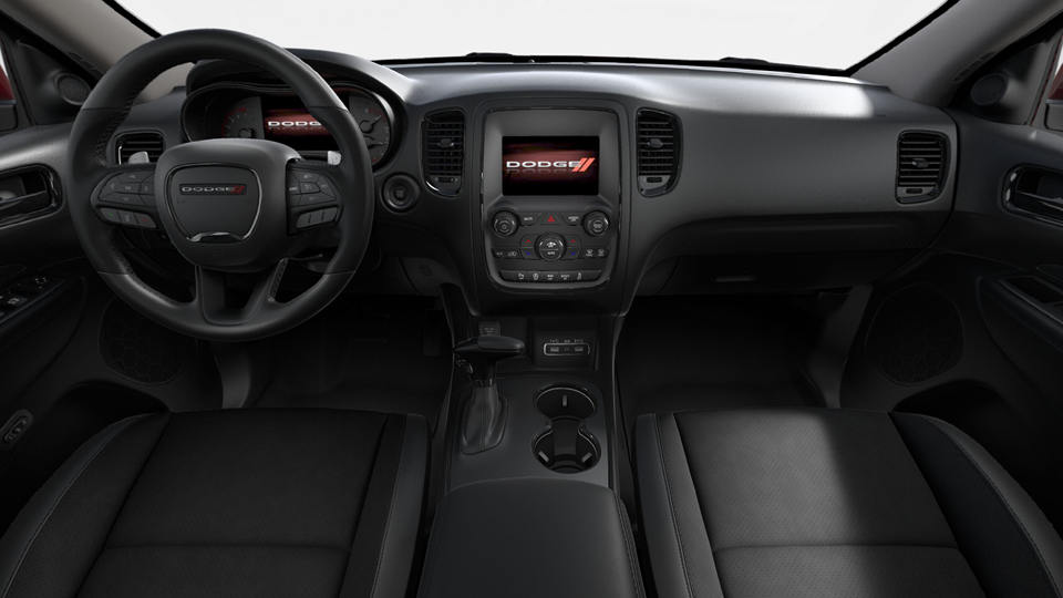 Interior of a 2018 Dodge Durango GT