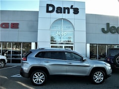 Certified Used 2016 Jeep Cherokee Limited 4x4 SUV in Westborough, MA