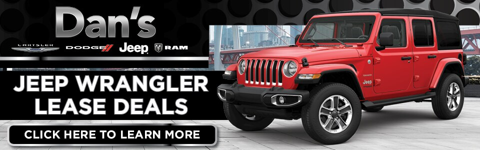 Jeep Wrangler Lease Offer