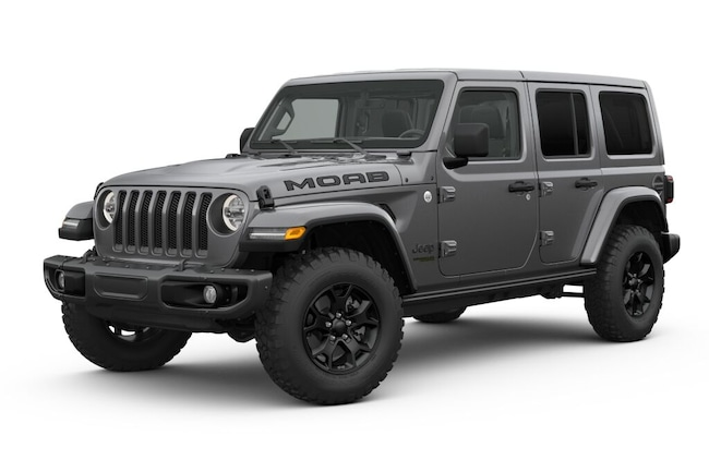 New 2019 Jeep Wrangler UNLIMITED MOAB 4X4 Sport Utility in Westborough, MA