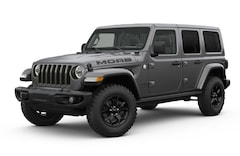 New 2018 Jeep Wrangler UNLIMITED MOAB 4X4 Sport Utility in Westborough, MA