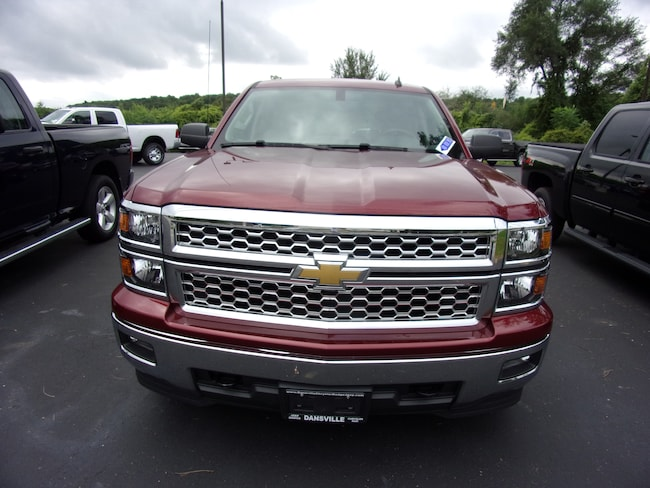 Used 2014 Chevrolet Silverado 1500 LT w/1LT Truck Crew Cab For Sale in Dansville, NY