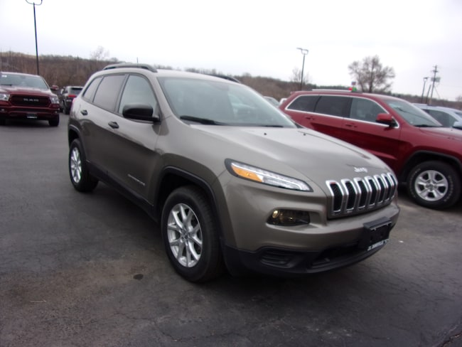 Used 2016 Jeep Cherokee Sport SUV For Sale in Dansville, NY