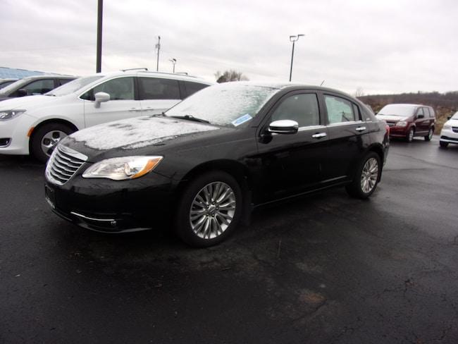 Used 2013 Chrysler 200 Limited Sedan For Sale in Dansville, NY