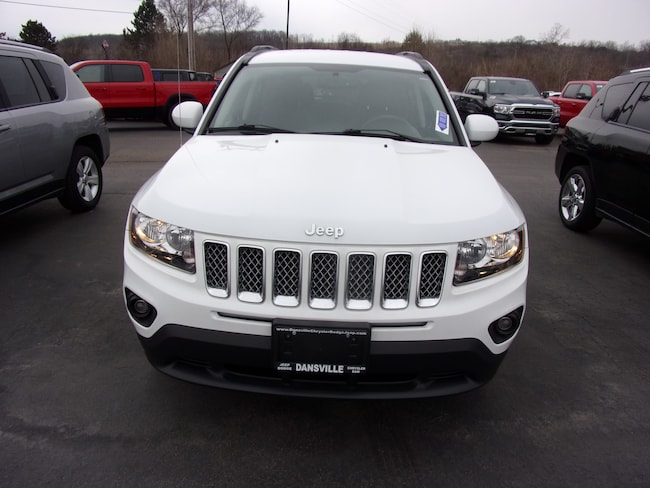Used 2016 Jeep Compass Latitude 4x4 SUV For Sale in Dansville, NY