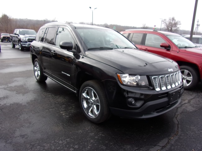 Used 2014 Jeep Compass Latitude 4x4 SUV For Sale in Dansville, NY