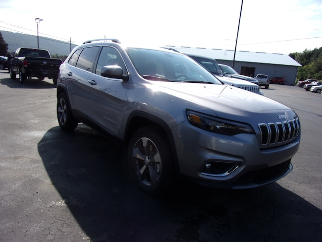New 2019 Jeep Cherokee LIMITED 4X4 Sport Utility For Sale in Dansville, NY