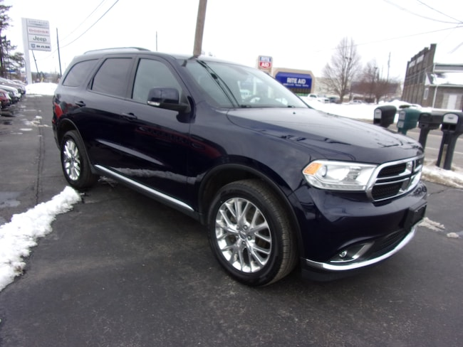Used 2016 Dodge Durango Limited SUV For Sale in Dansville, NY