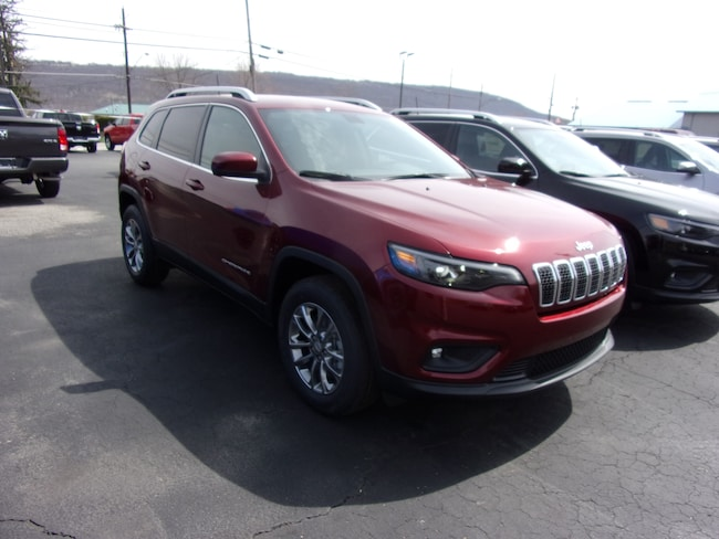 New 2019 Jeep Cherokee LATITUDE PLUS 4X4 Sport Utility For Sale in Dansville, NY
