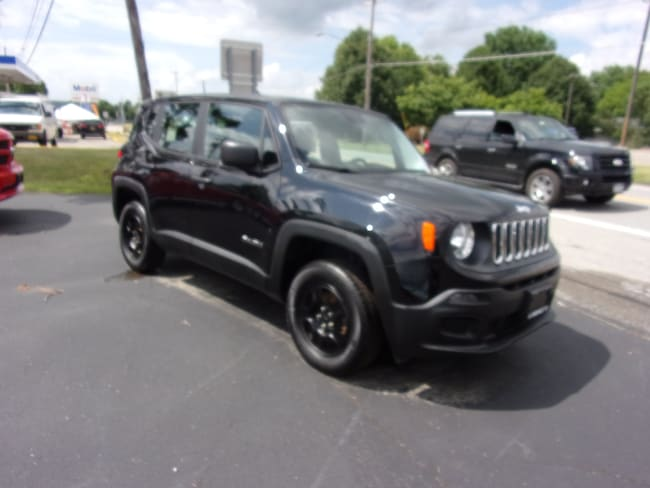 Used 2016 Jeep Renegade Sport 4x4 SUV For Sale in Dansville, NY