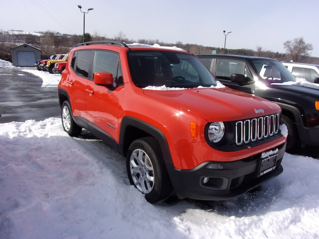 Used 2016 Jeep Renegade Latitude 4x4 SUV For Sale in Dansville, NY
