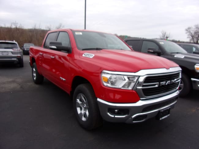 New 2019 Ram 1500 BIG HORN / LONE STAR CREW CAB 4X4 5'7 BOX Crew Cab For Sale in Dansville, NY