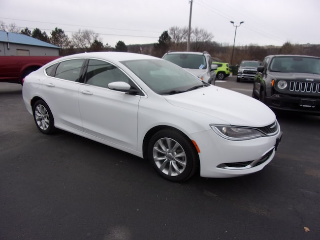 Used 2016 Chrysler 200 C Sedan For Sale in Dansville, NY