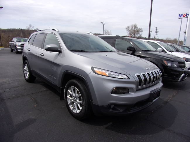 Used 2014 Jeep Cherokee Latitude 4x4 SUV For Sale in Dansville, NY