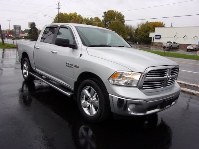 Used 2015 Ram 1500 SLT Truck Crew Cab For Sale in Dansville, NY